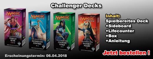 Magic: The Gathering Challenger Decks