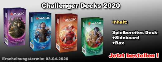 Magic: The Gathering Challenger Decks 2020