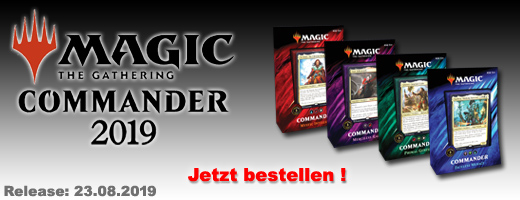Magic: The Gathering Commander 2019