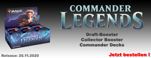 Commander Legenden